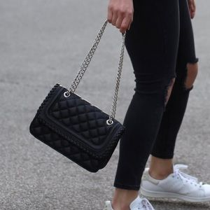 Express Quilted Crossbody Bag